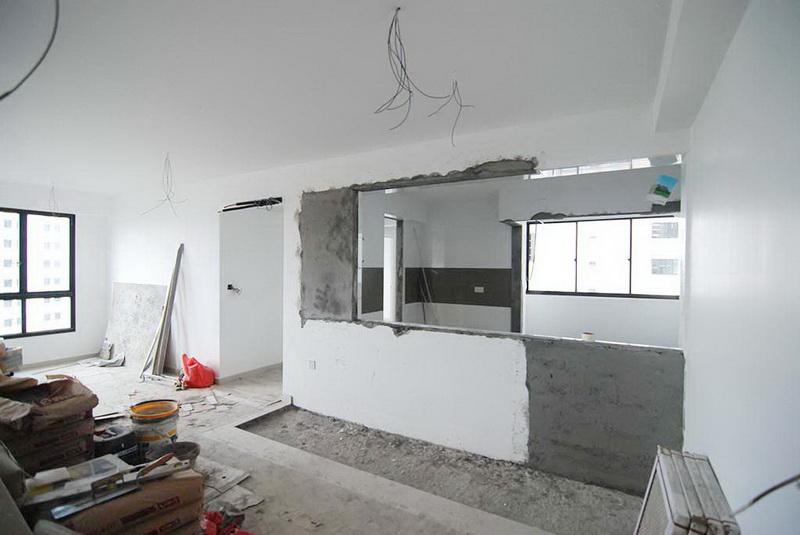 Rušenje i odvoz šuta, rušenje zida u stanu